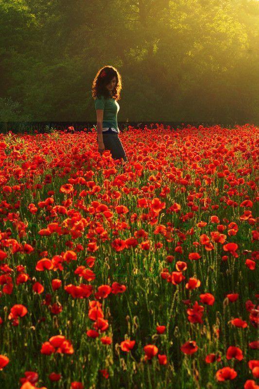 images femmes fleurs couleur